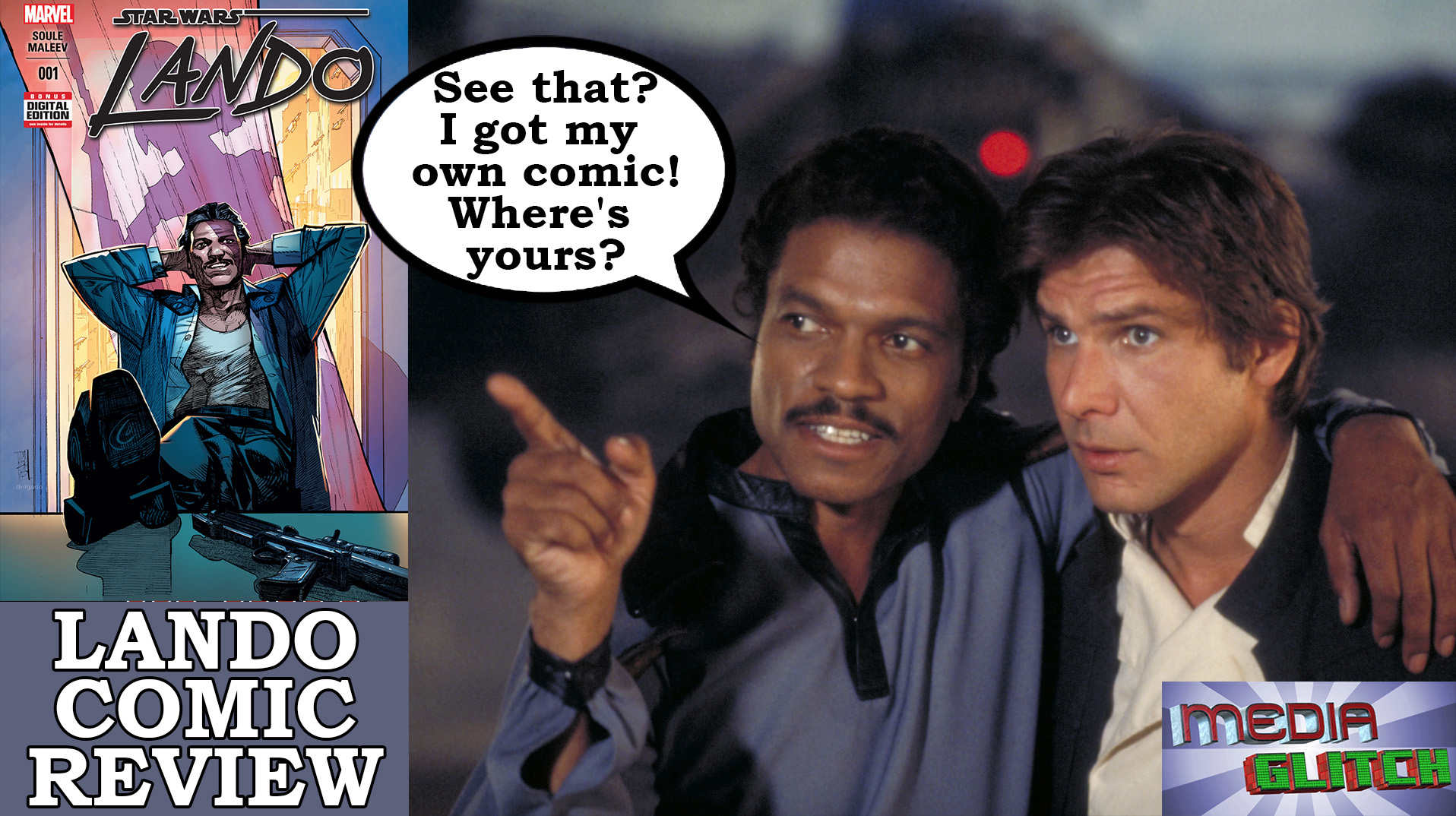 LANDO COMIC REVIEW