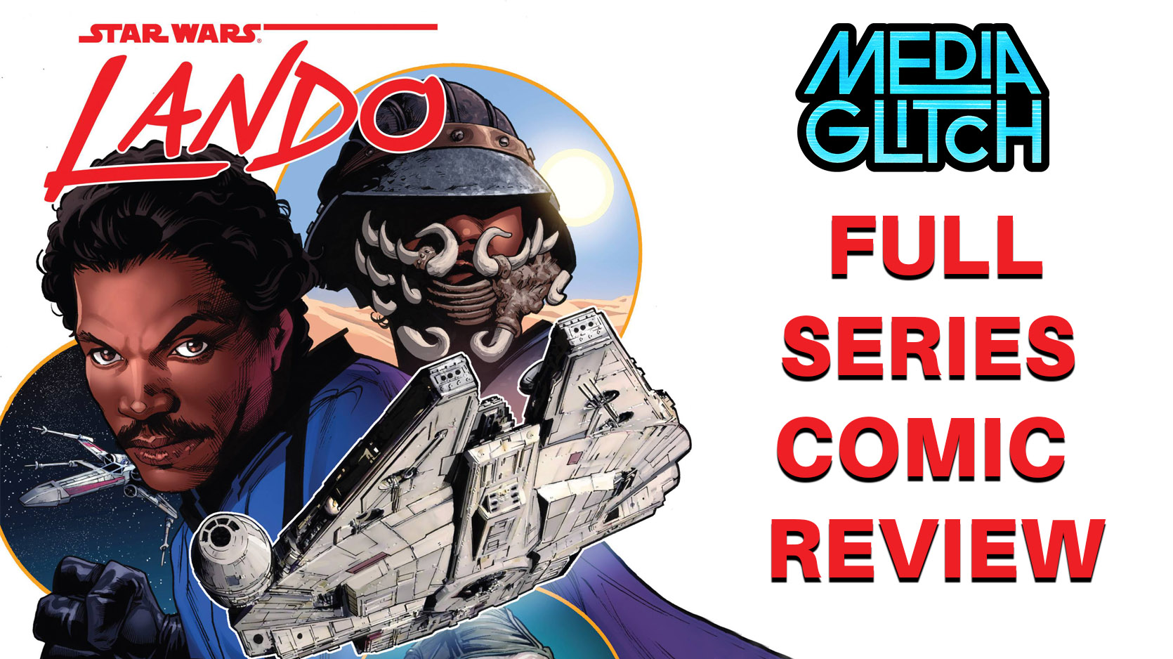 Lando full series Comic Review