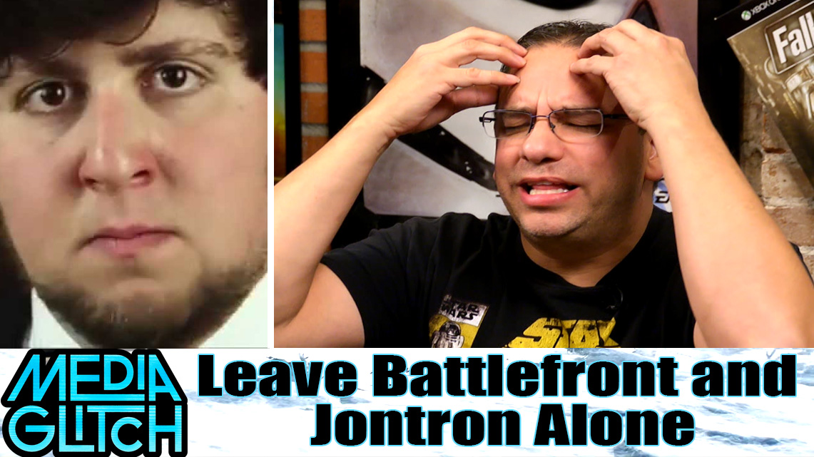 Leave Battlefront and Jontron Alone - Starwars Battlefront Review
