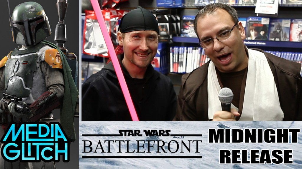 Star Wars Battlefront Midnight Relese Party