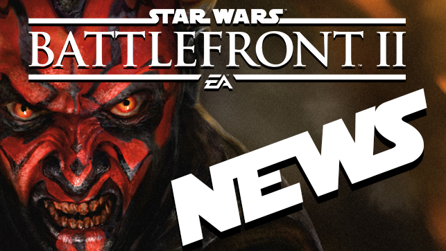 STAR WARS BATTLEFRONT 2 NEWS