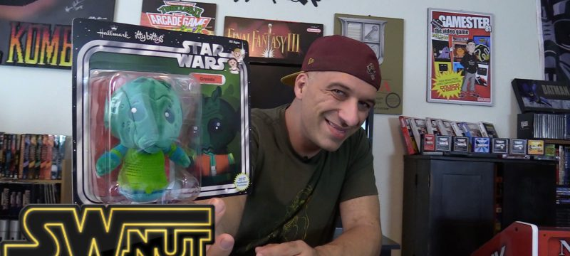 Exclusive Star Wars Greedo Itty Bitty Review