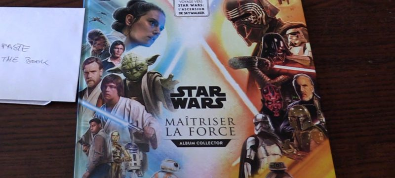 Star Wars Sticker Album from France